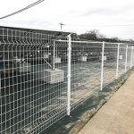太陽光発電フェンス(通りがついた綺麗な仕上がり)