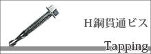H鋼貫通ビス