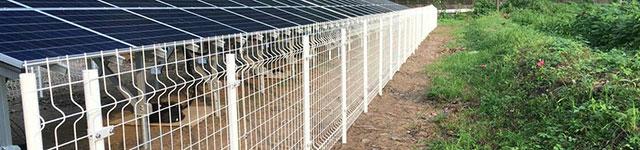 太陽光発電フェンス