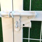 フェンス門扉のカギ