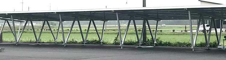 カーポート型アルミ架台